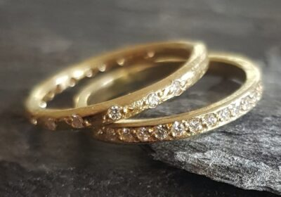 18ct weddng bands